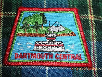 {A5-16} Dartmouth Central N.S.    Canadian Scout  badge patch D7A