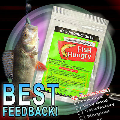 FISH HUNGRY Bait Activator Fish Attract Fishing BEST EFFECT