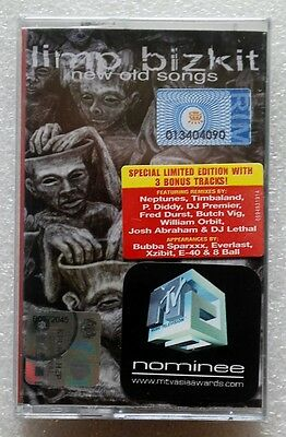 limp bizkit《 New Old Songs 》RARE OOP Malaysia Cassette Brand New Sealed