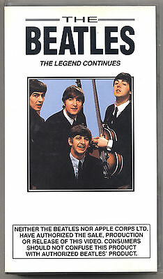 VHS - THE BEATLES - The legend continues - UK 1991 - USATA
