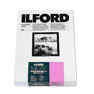 Ilford multigrade photographic darkroom paper 5x7 Glossy 100 sheets