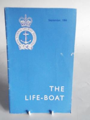 THE LIFE-BOAT SEPT 1964 - VINTAGE R.N.L.I MAGAZINE/JOURNAL Vol XXXVII No 409