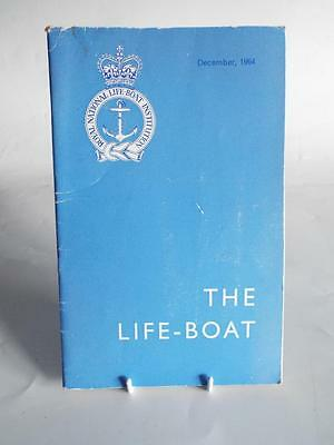 THE LIFE-BOAT DEC 1964 - VINTAGE R.N.L.I MAGAZINE/JOURNAL Vol XXXVII No 410