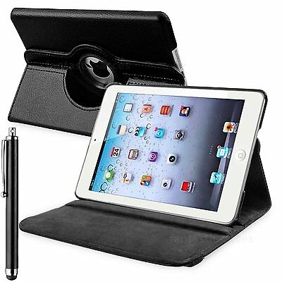Slim 360° Rotating Leather Flip Folding Stand Case Cover For Apple iPad Pro 9.7""