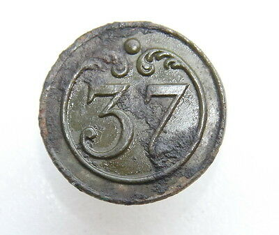 France French Napoleonic Wars 37th Regiment Military Army Button