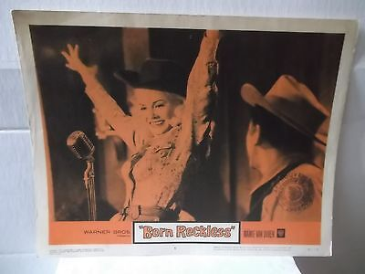 "Mamie Van Doren,""Born Reckless"",US, set of 5 different movie Lobby cards,rare,"