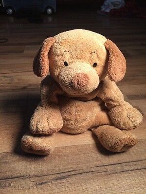 TY PLUFFIES 2003 Pluffy Brown Tan Plush Stuffed PUPPERS Puppy Dog TyLux 9""