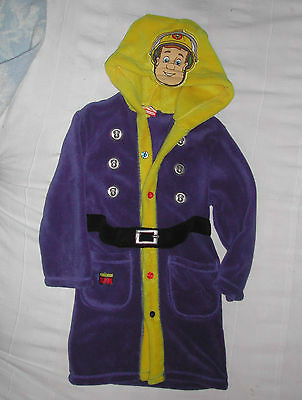 BHS Fireman Sam dressing gown 4-5 years