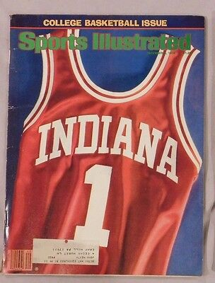 1979 Sports Illustrated Indiana Basketball College Basketball PREVIEW