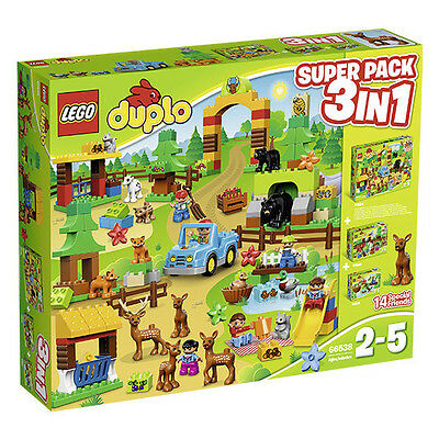 LEGO® DUPLO® 66538 Wildpark 3in1 Superpack (10584 10582 10581) NEU NEW