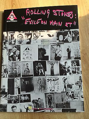 Rolling Stones Exile On Main Street Guitar Tab Song Book - Free Postage