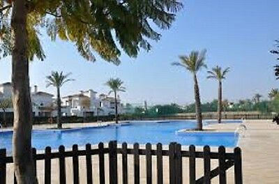 2 Bedroom 2 Bathroom Holiday Rental Overlooking Gardens & Pool In  Murcia Spain.