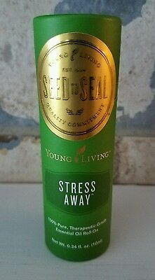 YOUNG LIVING Stress Away ROLLON 10ml 100% Pure Therapeutic Grade Essential Oils