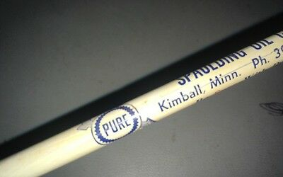 PURE Spaulding Oil Co.  service Gas Station advertising pencil KIMBALL MINNESOTA