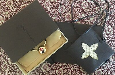 Louis Vuitton M61018 Sphere Key Ring Fuchsi Or Charm Inc Receipt And Packaging .