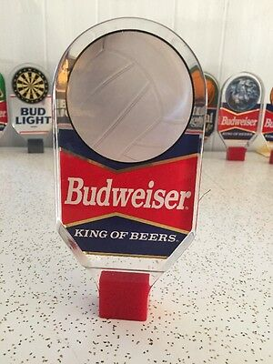 Budweiser Beer Tap Handle Volleyball Knob Vintage