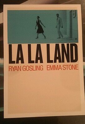 LA LA LAND Ryan Gosling unique A3 print heavy canvas paper unavailable elsewhere