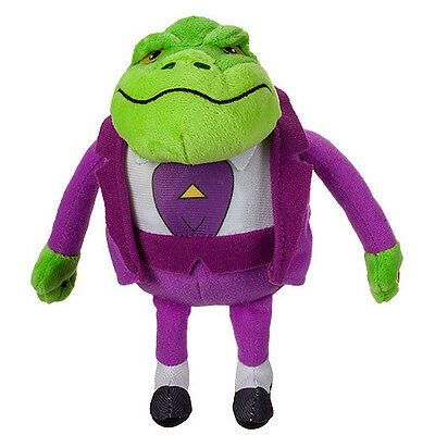 Danger Mouse 7-inch Talking Plush Toys - Baron Greenback
