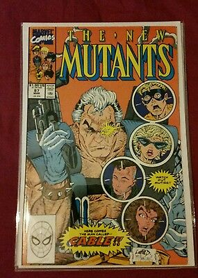 New Mutants #87 NM Super high grade 1st app of Cable 1st print