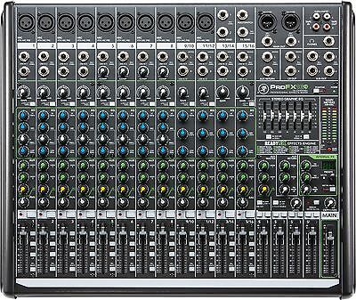 Mackie ProFX16v2 16-channel 4-bus Mixer with USB & FX