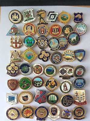 A Nice Collection Of Bowling Badges.      2