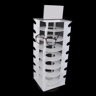 Portable 28 Pairs of Glasses Sunglasses Frame Display Stand Holder Rack