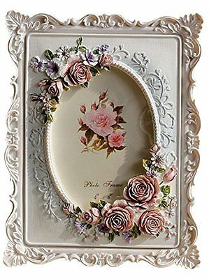 Giftgarden Roses 4 by 6 in Picture Frame Photo Display 4x6 for Friends Gift