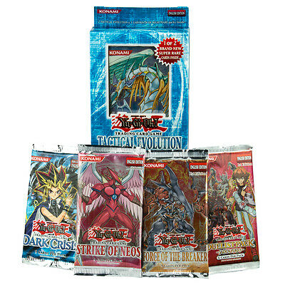 YU-GI-OH! TCG - Tactical Evolution Special Edition & Booster Card Packs Gift Box