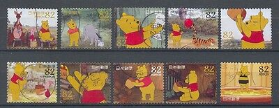Japon  - Greeting stamps 2014, Winnie the Pooh