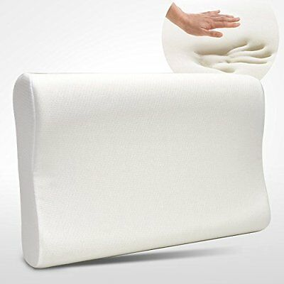 Premium Contour Memory Foam Pillow with Washable Fabric Cover Queen Size