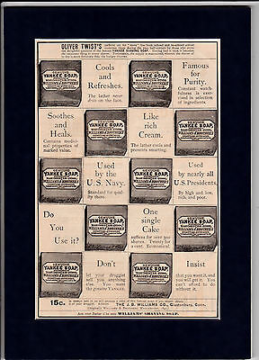 1880 Yankee Soap Williams & Brothers Glastonbury Conn