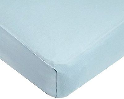 American Baby Company 100% Cotton Value Jersey Knit Crib Sheet (2, Blue)
