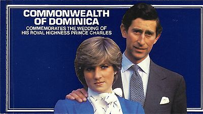 Dominica 1981 Royal Wedding Princess Diana Complete Booklet Sc # 705