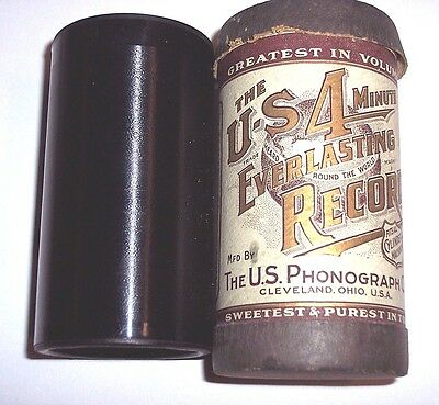 """Us Everlasting Phonograph Cylinder Record Ob/lid #1310 """"down On The Mill Stream"""