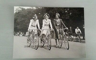 French Vintage Photograph Postcard Ladies