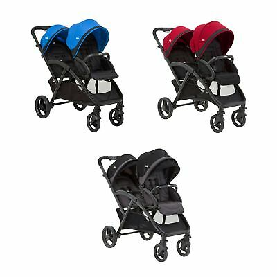 Joie Evalite Duo Tandem Double Stroller / Pushchair / Buggy - From Birth To 15kg