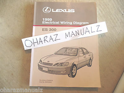 1999 lexus gs400 gs300 gs 400 electrical wiring diagram service 1999 lexus es300 electrical wiring diagram service manual oem