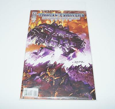 Megatron Origin Cover A Issue #4 The Transformers IDW Comic VF