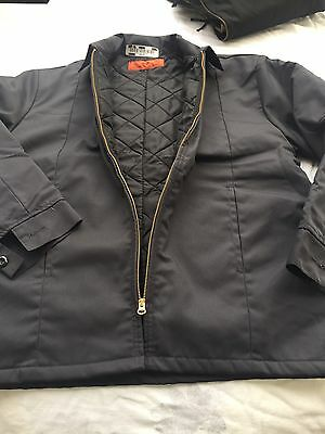Cintas Charcoal Gray Insulated Work Jacket Size Medium