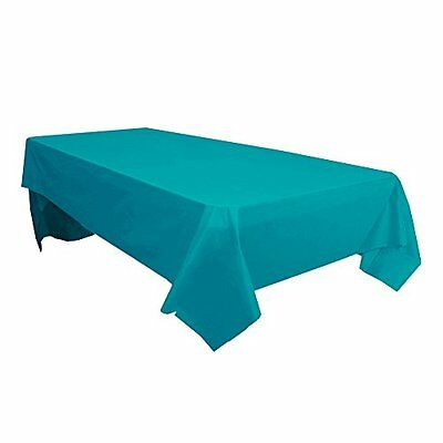 12pc Pack Table Cover 54x108 Teal, New