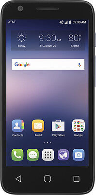 AT&T GoPhone - Alcatel Ideal 4G LTE with 8GB Memory Prepaid Cell Phone - Slat...