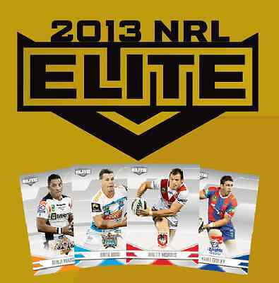 Nrl Rugby League 2013 Esp Elite Sealed Box Of Trading Cards