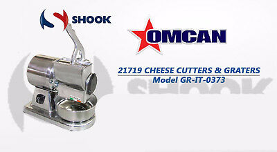 Omcan 21719 Commercial Restaurant Stainless Steel Cheese Grater .5HP Microswitch