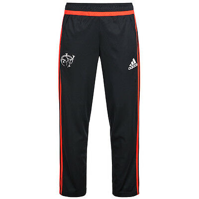 Munster Rugby adidas Men's Tracksuit Bottoms Training Fan Trousers Sport S89387