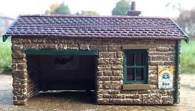 009 Narrow Gauge Small Station Building