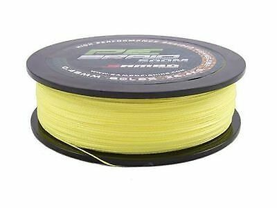 SAMBO 100% PE Dyneema Braid Spectra Fishing Line 300m 12lbs Fluro Yellow