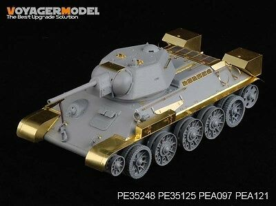 Voyager Model PE35248 - 1/35 WWII Russian T-34/76 Mod.1943 (for Dragon Kit)