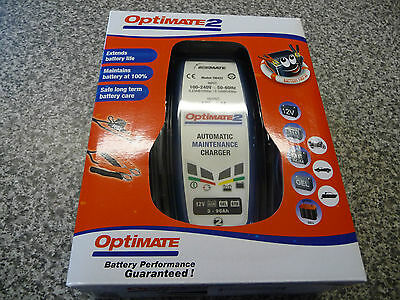 Optimate 2 12V Motorcycle Battery Charger