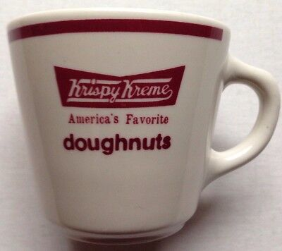 (1) Krispy Kreme Doughnuts Restaurant Ware Coffee Mug, Homer Laughlin, Rare