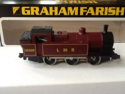 Graham Farish N Gauge 0-6-0  L M S Loco Boxed.